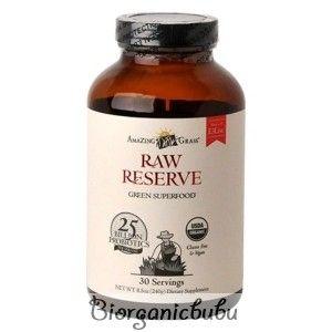 Amazing Grass Bautura din iarba de grau Raw Probiotic, 30 portii, 240 g