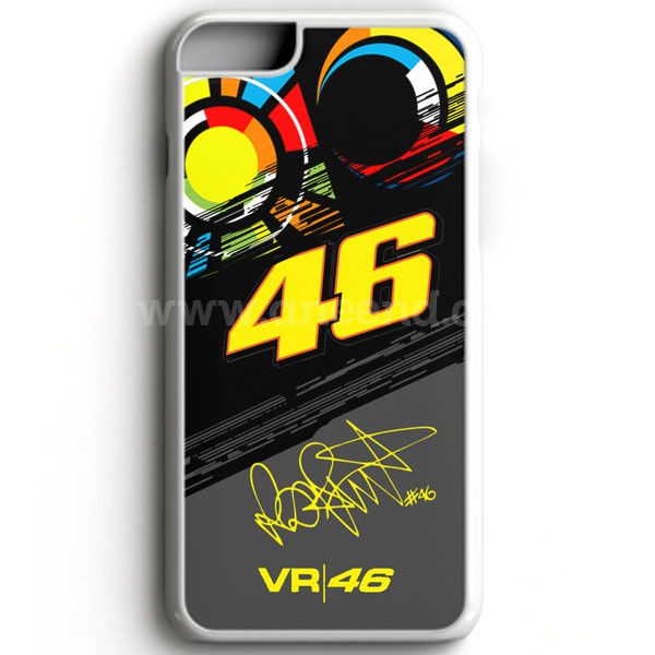 Valentino Rossi Vr46 Movistar Yamaha Motogp case provides a protective yet stylish shield between your iPhone 7 and accidental bumps, drops, and scratches. Features slim and lightweight profile, preci