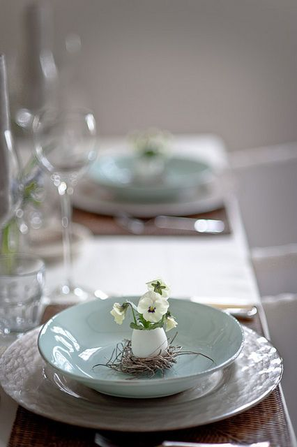 Spring Place Setting for a special celebration!