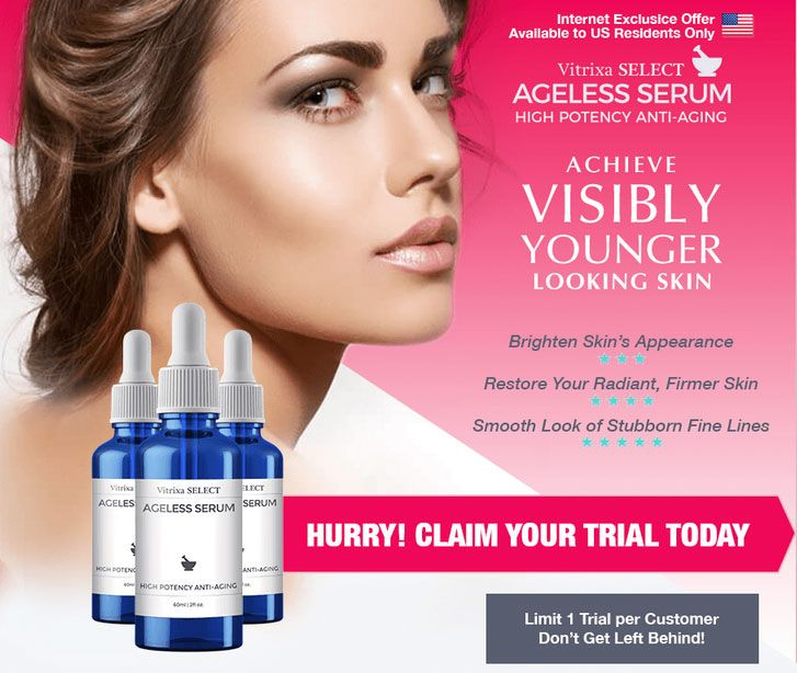 Vitrixa Ageless Serum Review - Attractiveness is relative. It depends on the onlookers. As they say, a thing of beauty is fleeting and holds true in the eyes of the beholder.