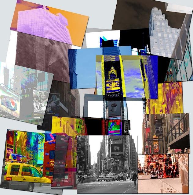 Photocubism inspired by David Hockney