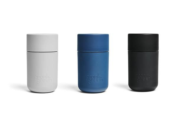 The Multi Award Winning Reusable Frank Green Originals Range Fuses Design Form And Function With Sustainability Made F Reusable Coffee Cup Coffee Cups Coffee