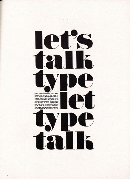 Vintage font advertisements from Print magazine to inspire you for the 2015 Typography and Lettering Awards. Advertisements from the 1950s to present.