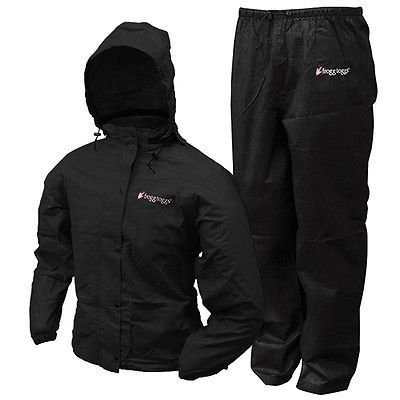 Jacket and Pants Sets 179981: Frogg Toggs Ap13580-01Md Women S All-Purpose Suits [Black, Medium] (Ap1358001md) -> BUY IT NOW ONLY: $39.95 on eBay!