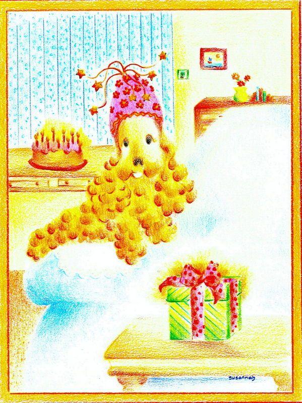 """""""Les mémoires d'un ange poilu"""" - Mon dixième anniversaire (Illustration de Suzanne Côté)"""