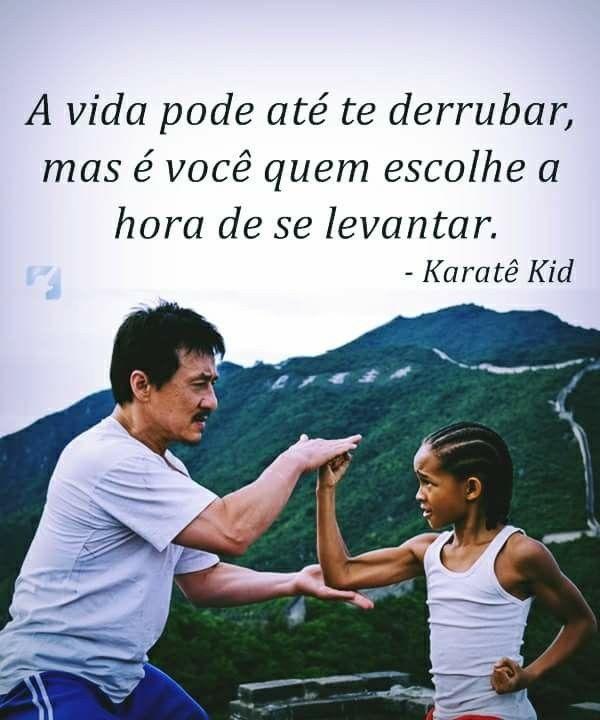 Karatê Kid Imagem De Motivação Frases Interessantes E