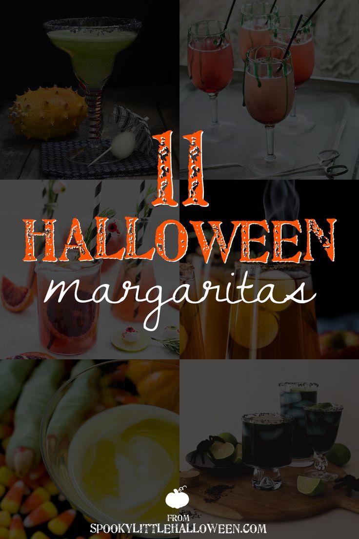 11 Halloween Margaritas   spookylittlehalloween.com