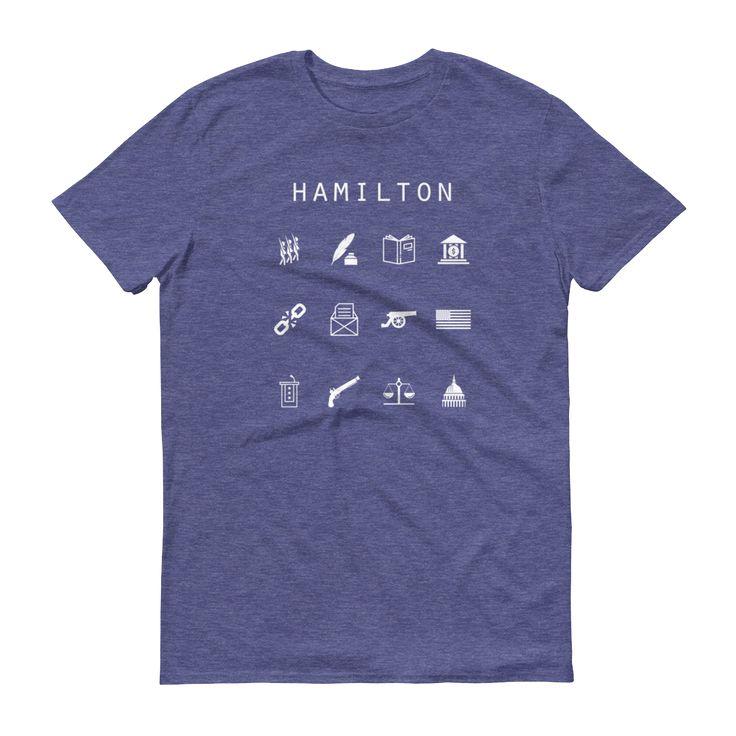 Hamilton Unisex T-Shirt - Beacon
