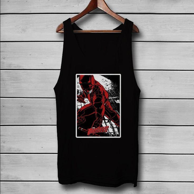 Daredevil Season 2 Custom Tank Top T-Shirt Men and Woman
