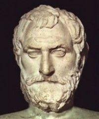 tales de mileto - Filósofo y matemático griego. Al repasar las ideas de los filósofos anteriores en el primer libro de su Metafísica.