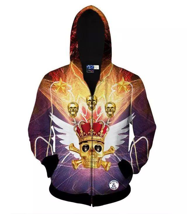 New 3d Unicorn/Animal print men polo hoodies tracksuits sport suit mannen kleding sudadera element veste homme sueter masculino