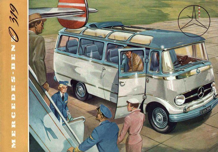 Mercedes Benz MB319 bus brochure