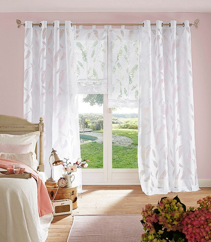 106 besten gardinen bilder auf pinterest einrichtung fensterdekorationen und fenster. Black Bedroom Furniture Sets. Home Design Ideas