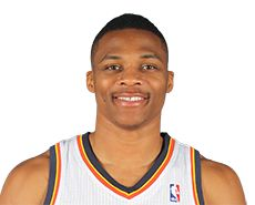 Russell Westbrook with The OKC Thunder