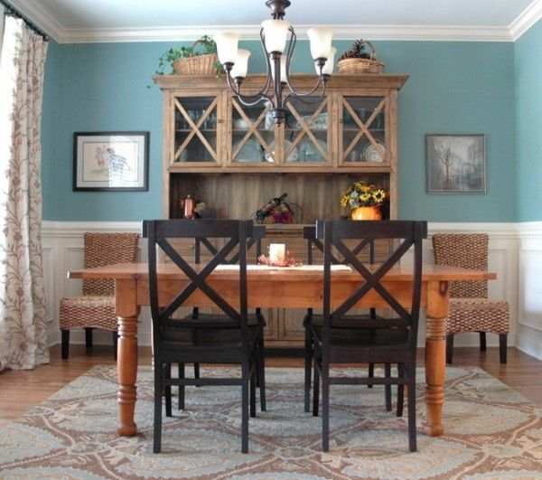 Best Dining Room With A Chair Rail Images On Pinterest Dining