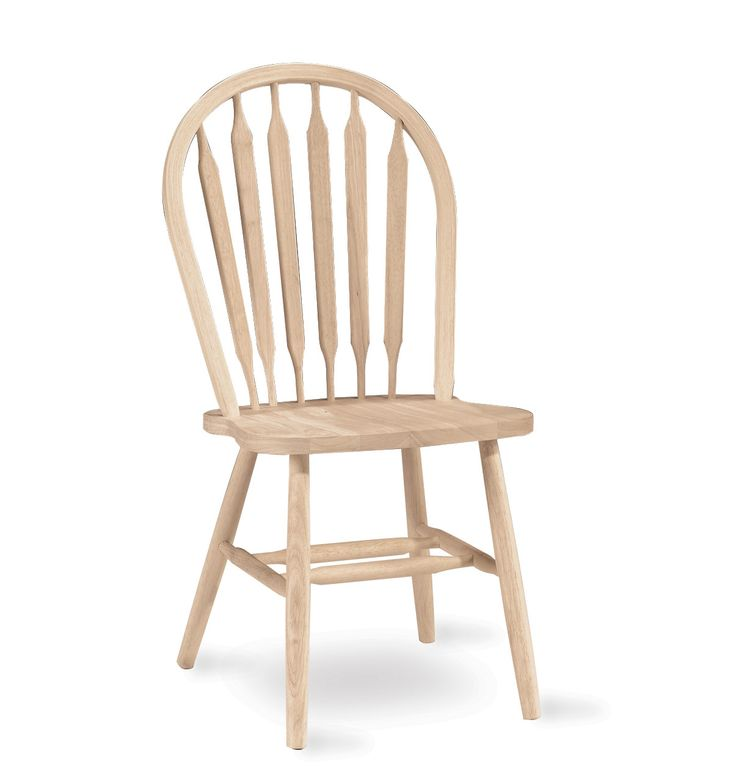 concepts unfinished waterford arrowback plain leg dining chair the waterford high arrowback chair plain legs will add a look of elegant