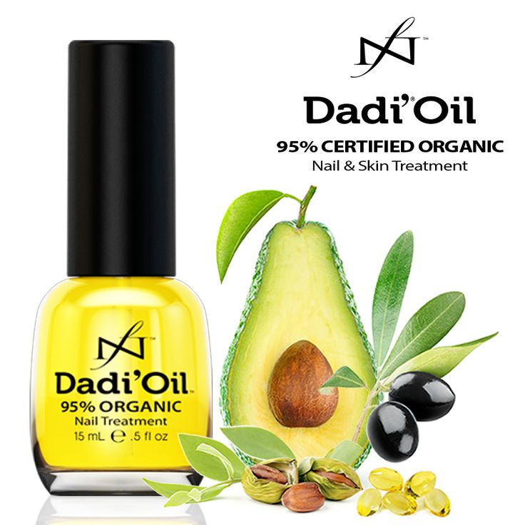 Organic ingredients. Softer skin. There's no downside to #DadiOil. Use on nails, cuticles, lips, and skin.