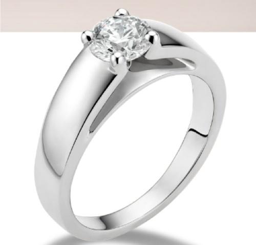 my engagement ring bvlgari