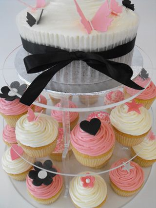 18 Best Images About White Black And Pink Party Ideas On