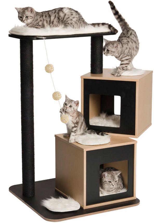 M s de 1000 ideas sobre dise os de u as de gato en - Casa para gato ...