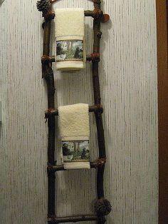 Hometalk :: Hello I Live Here's Picks for DIY Towel Racks :: Linda Crandall's clipboard on Hometalk