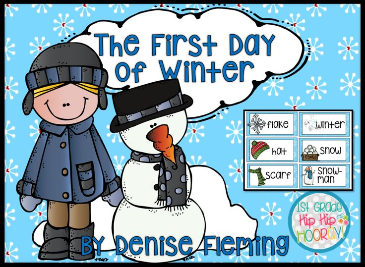 http://hensonsfirstgrade.blogspot.com/2016/11/the-first-day-of-winterdenise-fleming.html