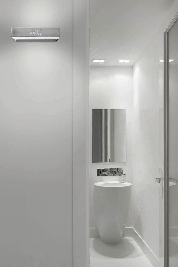 46 best commercial lighting images on pinterest runners for Commercial bathroom lighting