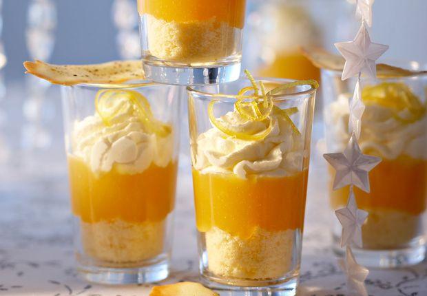 Verrines à la mandarine Découvrir la recette des verrines à la mandarine