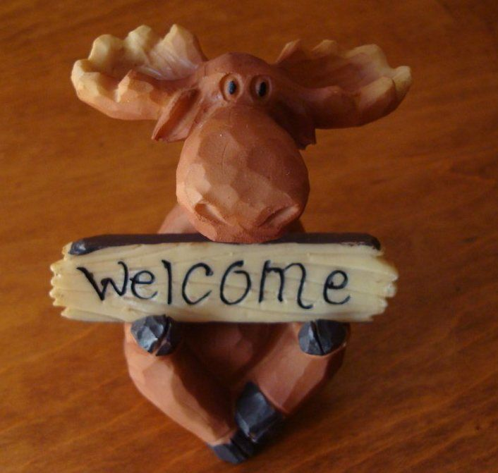 56 Best Moose Cabin Decor Images On Pinterest Elk And Mousserhpinterest: Moose Figurines In Home Decor At Home Improvement Advice