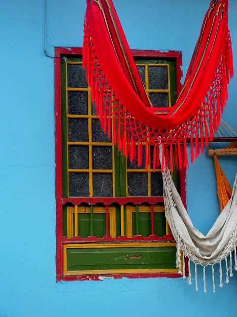 Ráquira, Colombia, full color