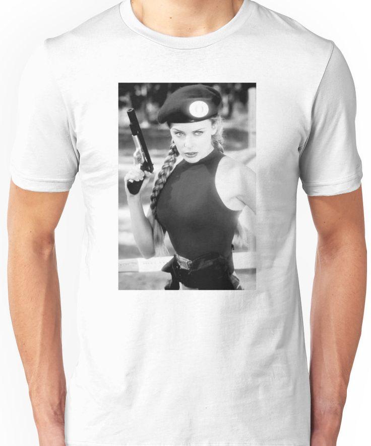 CAMMY STREET FIGHTER KYLIE MINOGUE Unisex T-Shirt