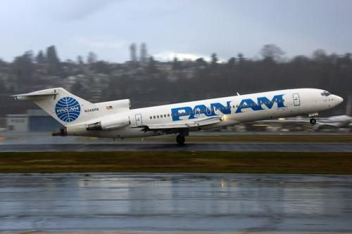 pan am airlines B-727