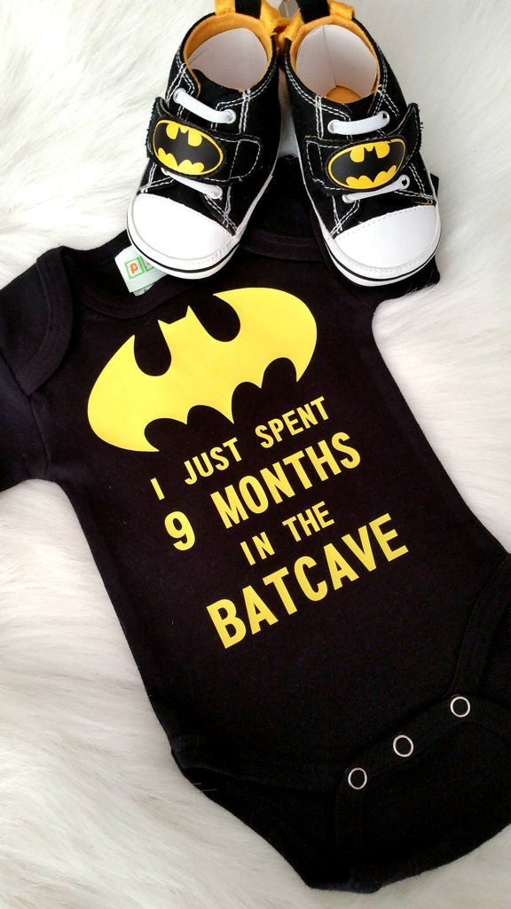 ***CUSTOMER FAVORITE*** Baby Boy or Girls First Bat man Shirt - Batcave Onesie - Shower Gift - Baby Shower Decoration