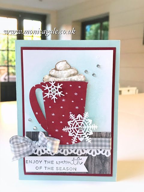 Monica Gale Top STAMPIN'UP! UK Demonstrator: Stamp To Share Blog Hop - Coffee Cafe from Stampin Up !