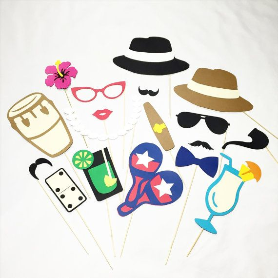 Hey, I found this really awesome Etsy listing at https://www.etsy.com/listing/260454145/havana-nights-party-props-photobooth