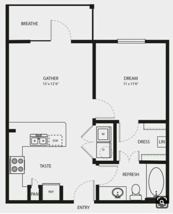 Pin By Nataliya Usik On Planirovka One Bedroom House Tiny House Floor Plans One Bedroom House Plans