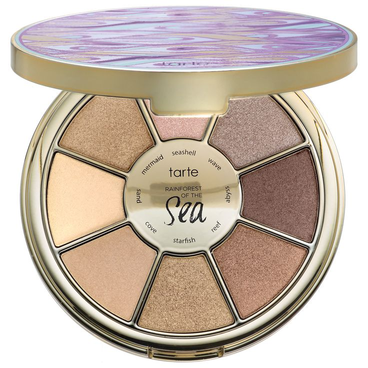 Shop Tarte Rainforest Of The Sea™ Eyeshadow Palette at Sephora. It has eight, versatile, sea-inspired eye shadows for an array of sea-inspired looks.
