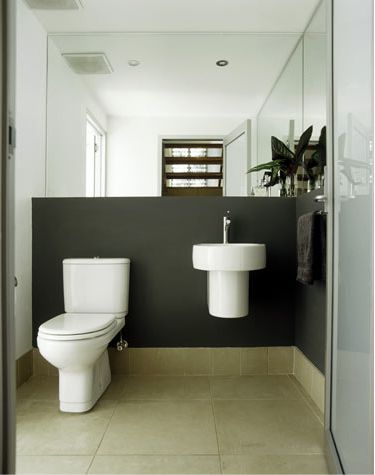 Best Tiny Master Bath Ideas Images On Pinterest Bathroom Ideas - Small space toilet design