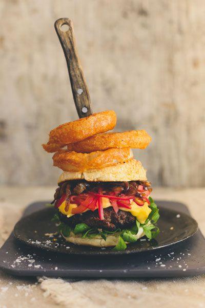 Onion Overload Beef Burgers | Crush Magazine