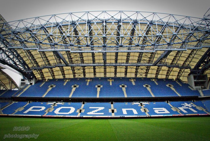 Poznań,Polska ,Stadion Lech Poznań