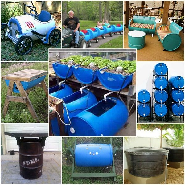 13 Great Ways to Reuse A 55 Gallon Barrel