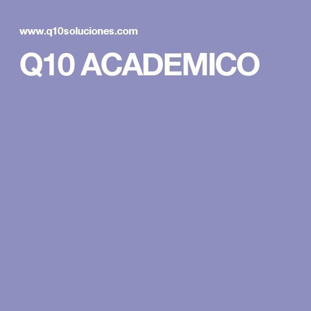 Q10 ACADEMICO