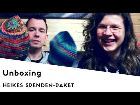 (2) Unboxing - Heikes Spendenpaket - Woolpedia® - YouTube