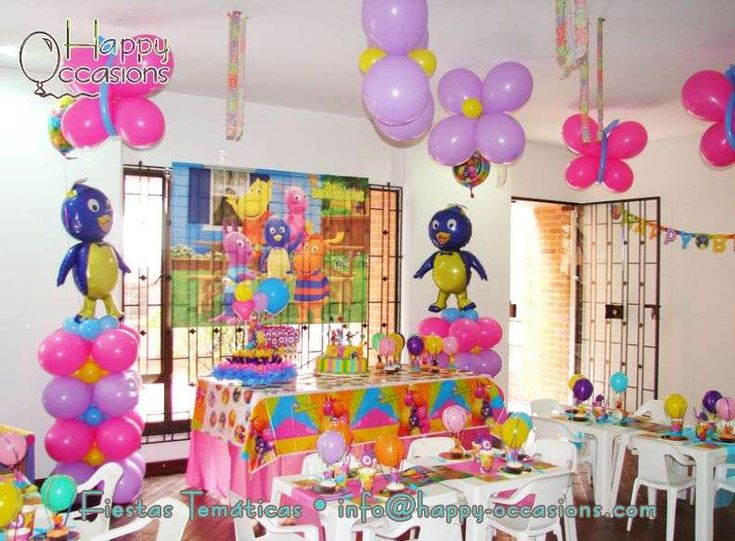 82 best images about backyardigans party on pinterest for Backyardigans party decoration