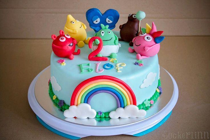 Babblarna tårta cake Babblarnatårta sockerlinn.se ⭐