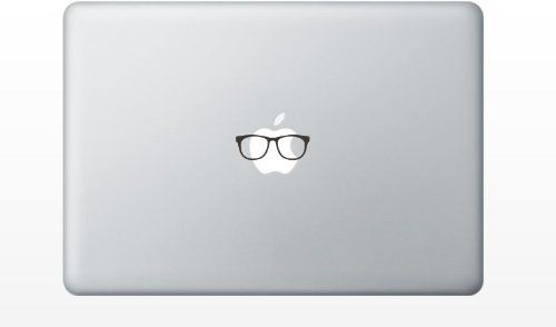 Glasses funny cute MacBook Decal Mac Apple skin sticker pro air 13 15 17 BLACK Slap-Art,http://www.amazon.com/dp/B00CHTKT80/ref=cm_sw_r_pi_dp_Z1GOsb15XB2A8YAB
