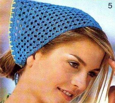 Patrón #1114: Pañoleta a Crochet | CTejidas [Crochet y Dos Agujas]
