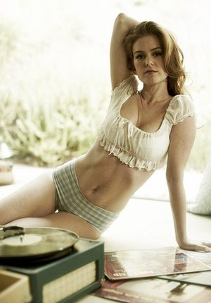 Isla Fisher's Back is Getting ... is listed (or ranked) 6 on the list The 40 Sexiest Isla Fisher Pics of All time