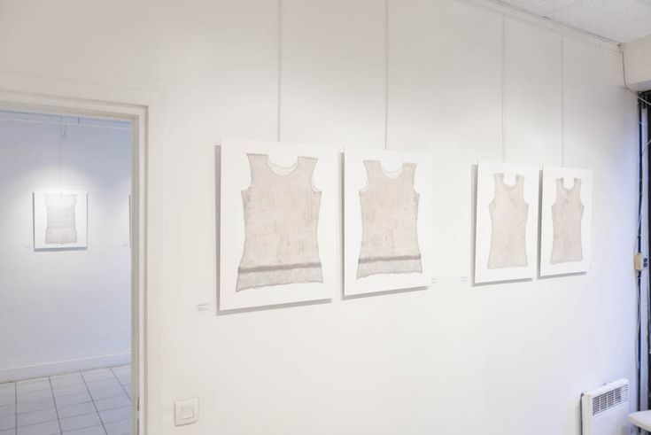 """View of the exhibition """"Reprises"""" presented at the SPEOS gallery, 7 rue Jules Vallès 75011 Paris, from April 14th to May 7th, 2015. Photo © Eric Valdenaire http://ericvaldenaire.com"""