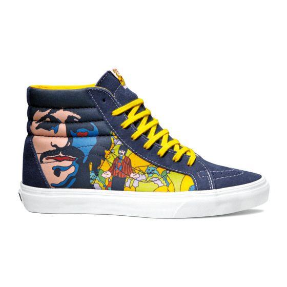 "Vans "" Yellow Submarine"" sneakers."